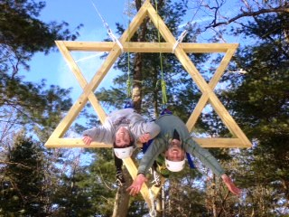 ropes course jewish elements