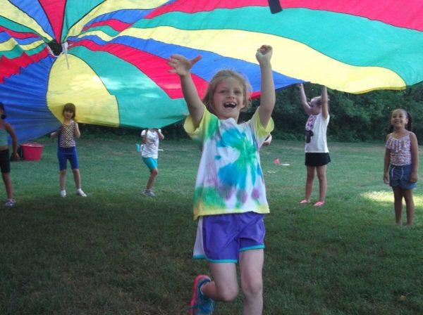 This Is A Photo Of Children At The JCC Summer Camp