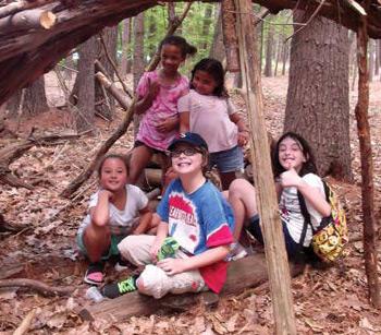 Tent Shelter Making Summer Camp Jcc
