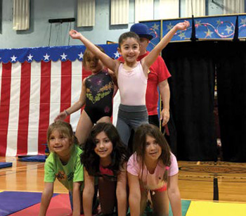 Circus Camp Specialty Camp