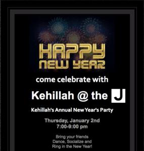 Kehillah New Year Event
