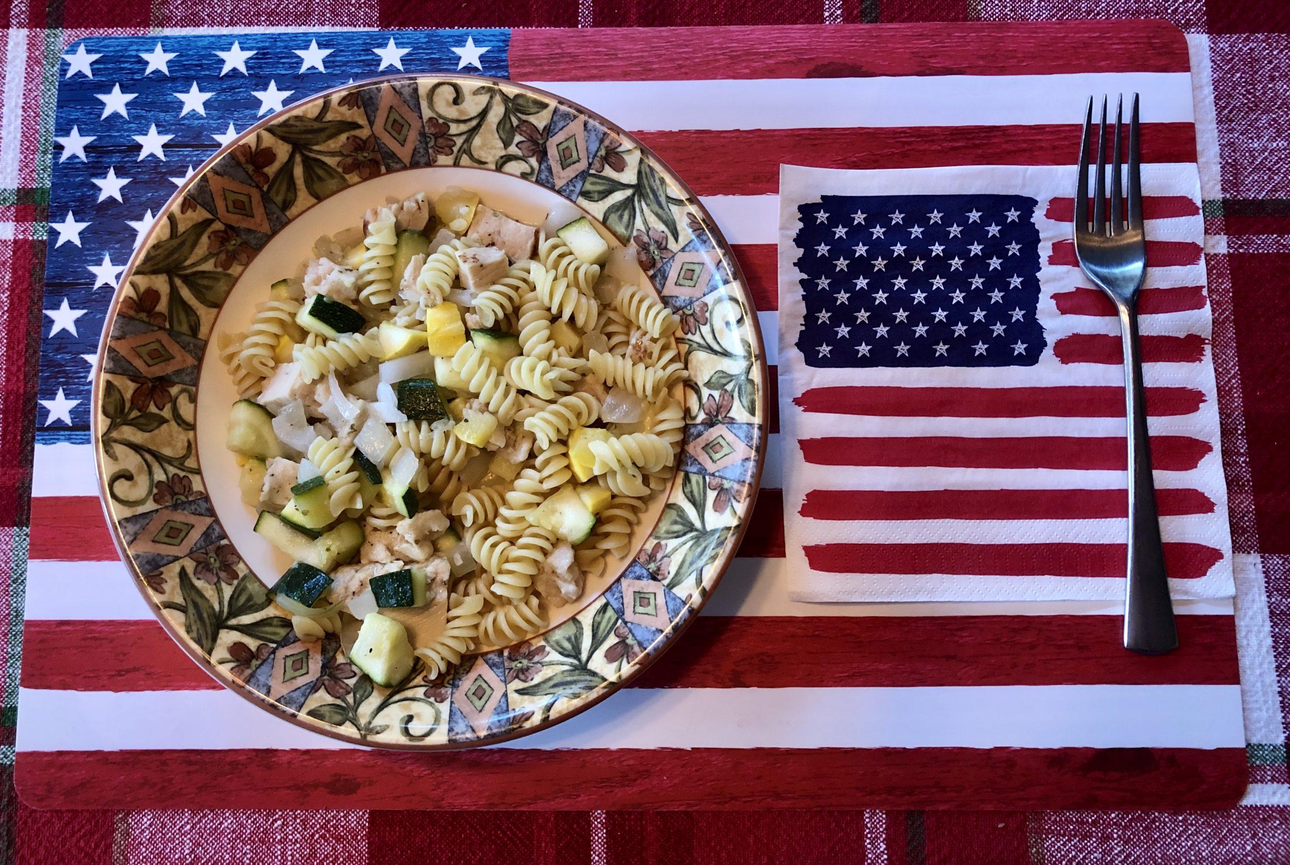 J Recipe: Summer Pasta