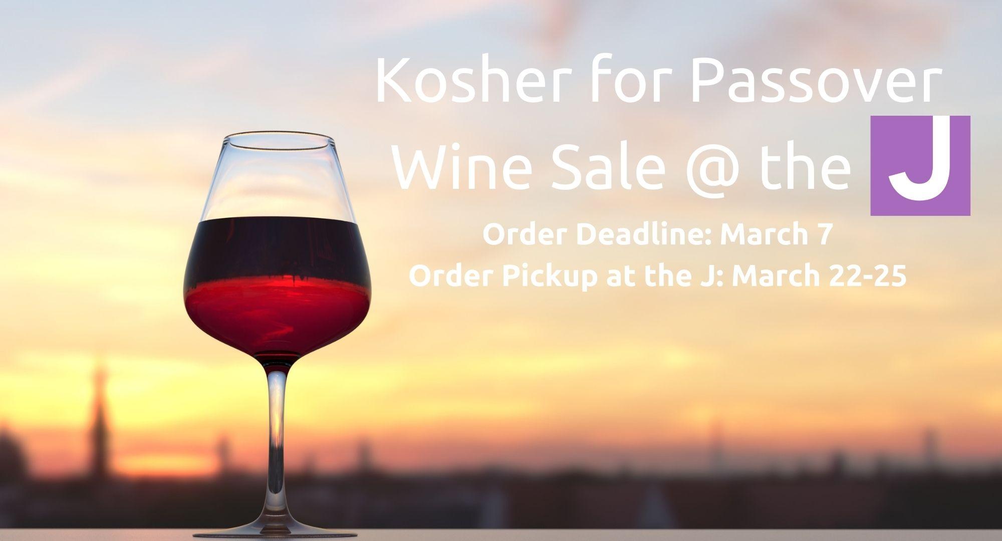 Kosher for Passover Wine Sale
