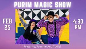 Purim Magic Show