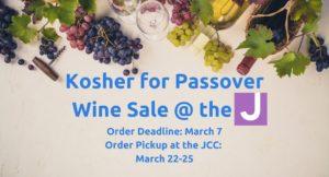 Passover Wine Sale